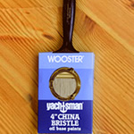 Wooster Yachtsman Varnish China Bristle Brush